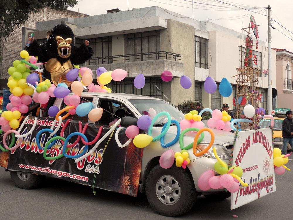 C'est le carnaval à Arequipa