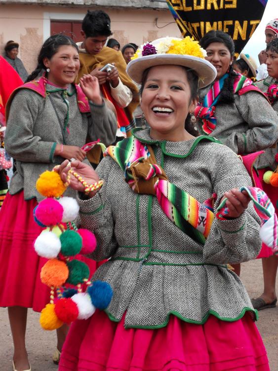 Atuncolla, non loin de Puno et du lac Titikaka, le carnaval