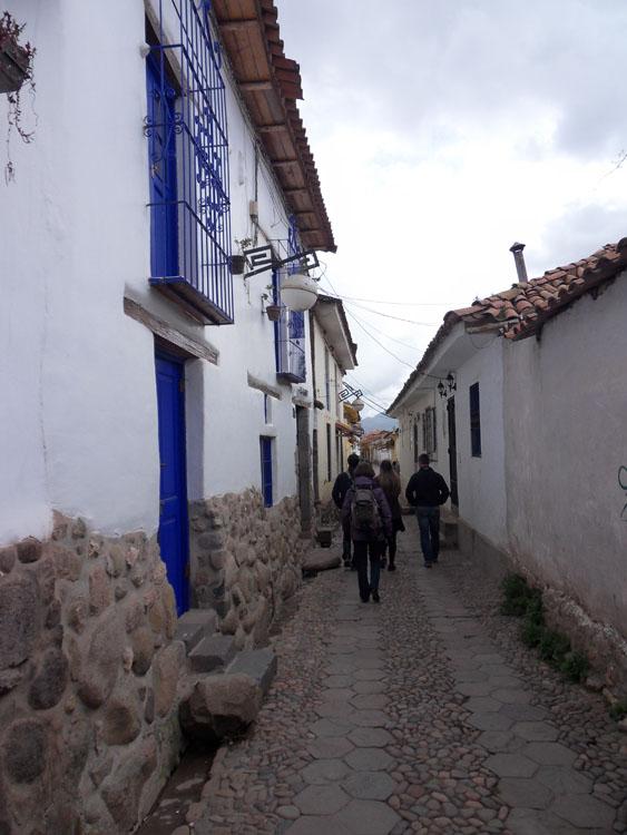 Ruelle du quartier San Blas