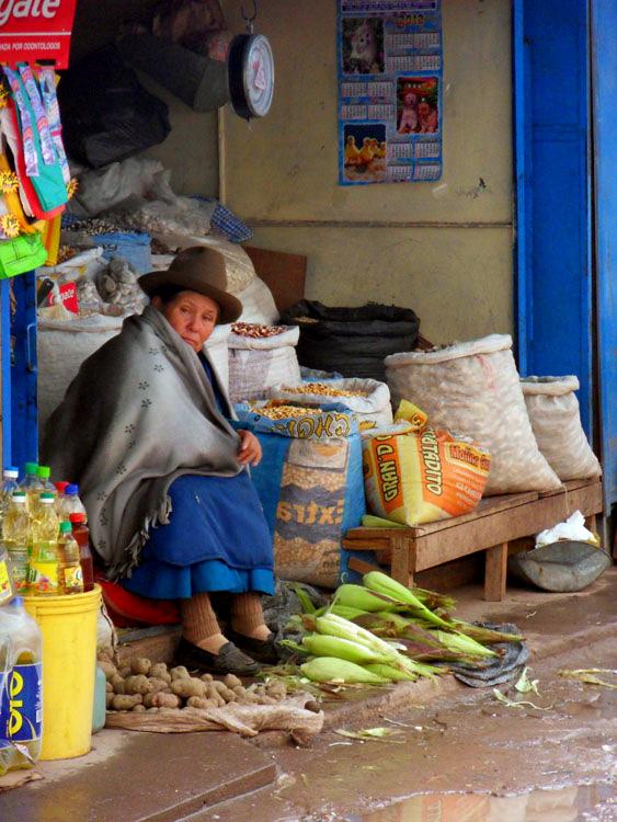 Au marché de Cuzco