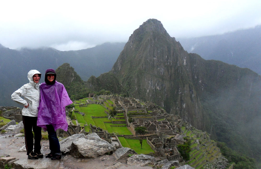Machu Picchu, sous la pluie