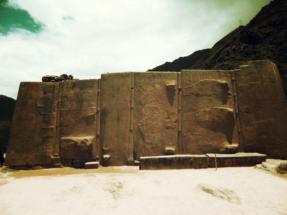 Ollantaytambo, un grand mur