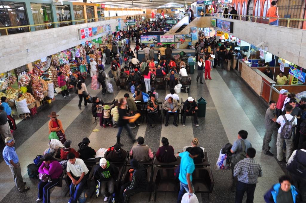 Gare routière d'Arequipa