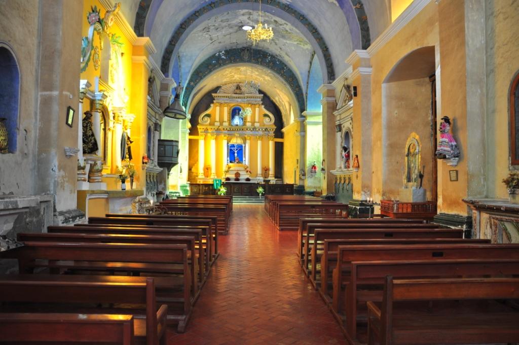 Cabanaconde, l'église