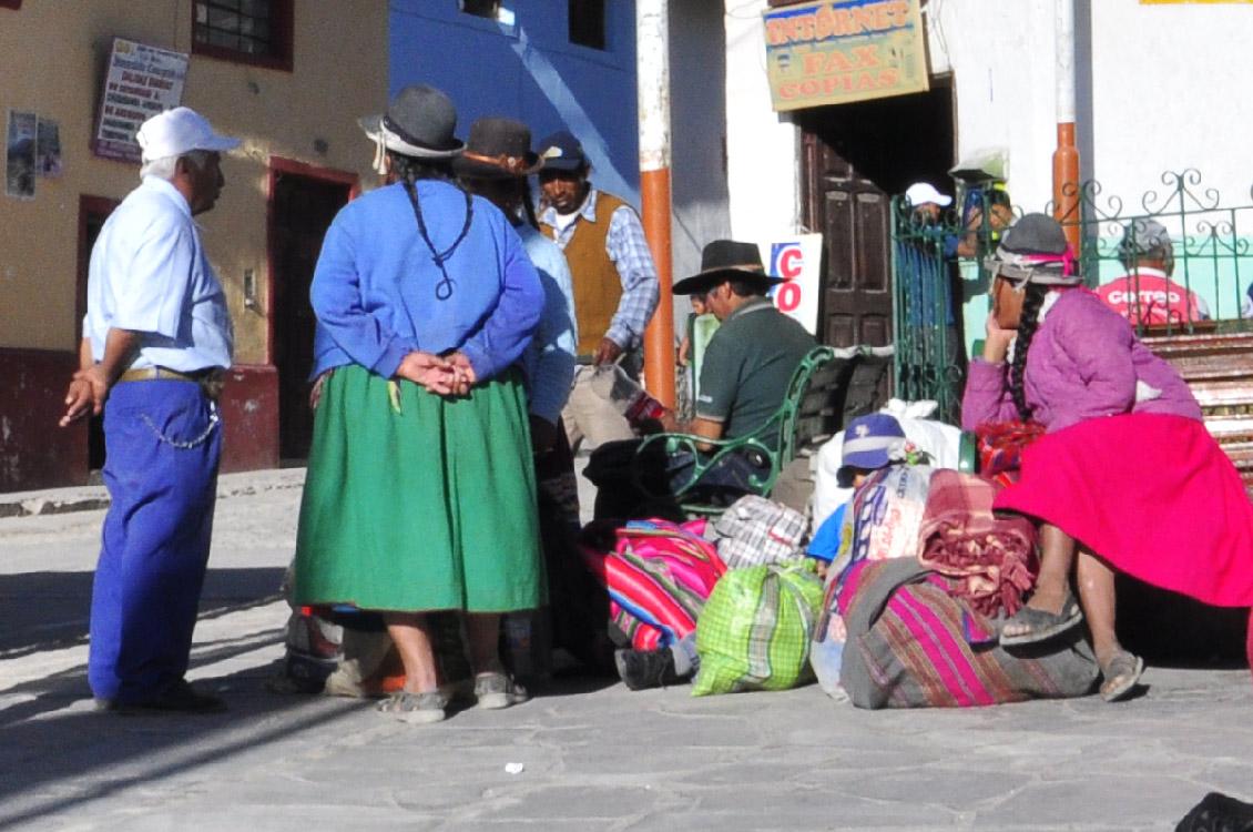 En attendant le bus pour Arequipa