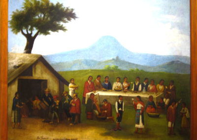 """""""Matrimonio de indios"""" (mariage d'indiens), (Arce Naveda), M.G. Lima"""