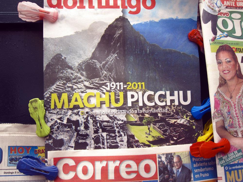 Centenaire du Machu, Lima