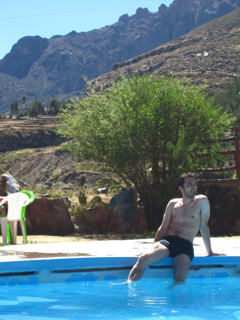 C'est là qu'on s'y baigne (La Calera)