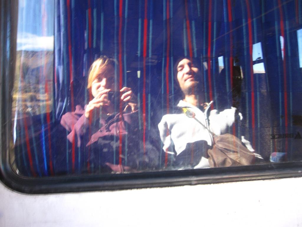 Dans le bus du retour
