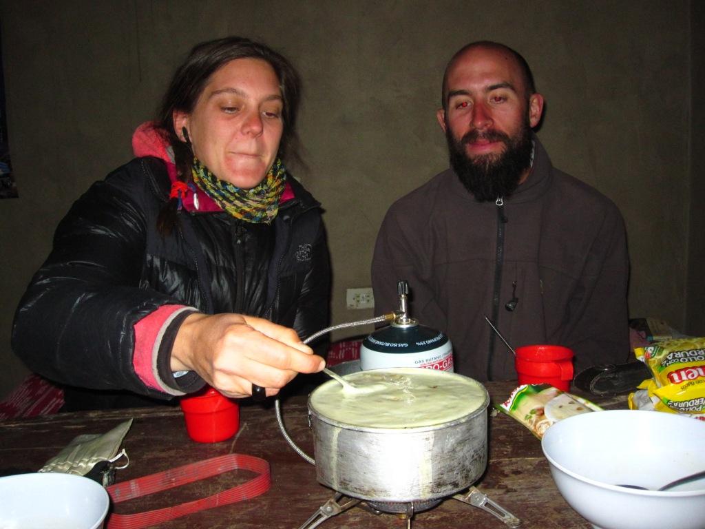 Charcana, mmmmm, de la soupe déshydratée