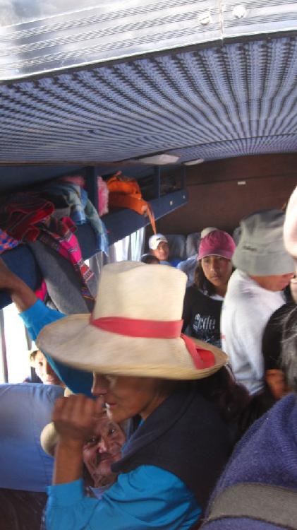 Dans le bus pour Cotahuasi