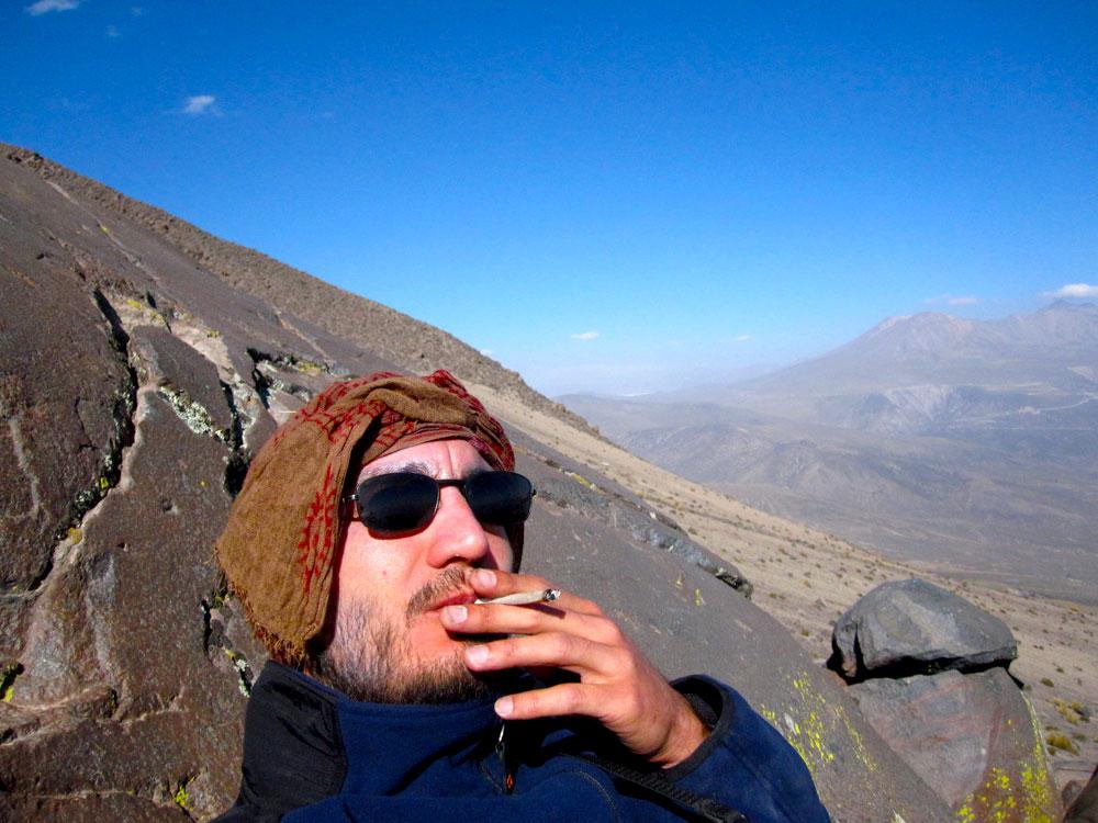 1er jour, petit plaisir à 4600m d'altitude