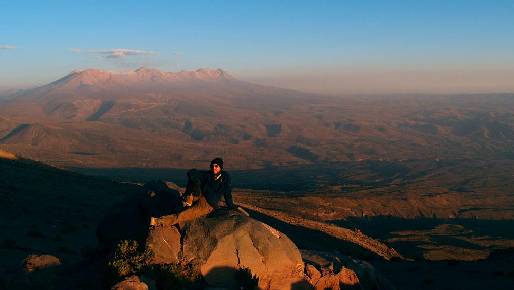 1er jour, séance photo devant le Pichu Pichu