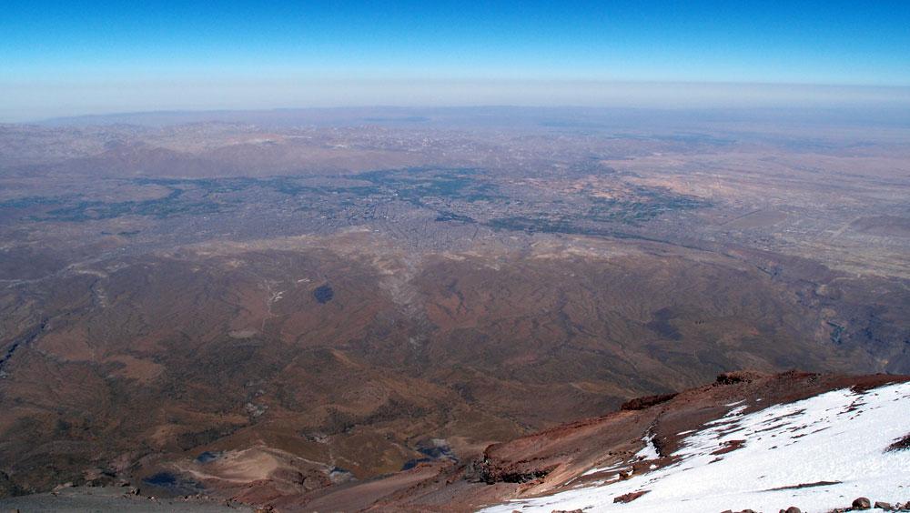 2ème jour, Arequipa encore