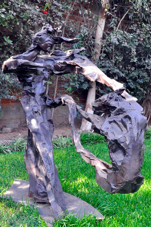 MAM Trujillo : un bronze dans le jardin