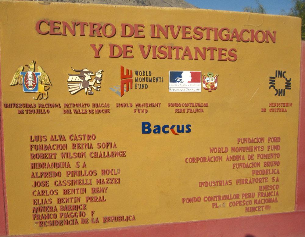 Les mécènes (Huaca de la Luna)