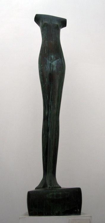 """MAM Trujillo : """"Venus"""" (Alberto Giacometti, Suisse) bronze 1m42"""