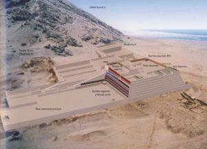 La reconstitution de la Huaca de la Luna