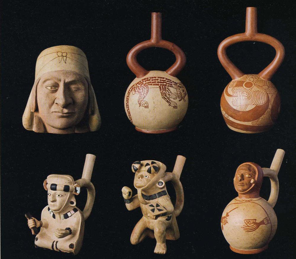 Céramiques (musée de la Huaca de la Luna)