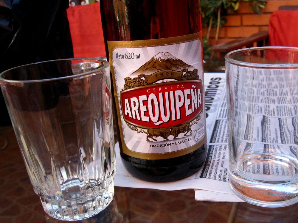 Arequipeña, la bière locale